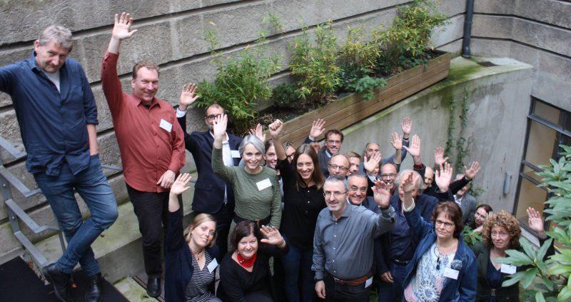 La reunión de lanzamiento del proyecto GoNano se celebró del 25 al 27 de octubre de 2017 en Copenhague