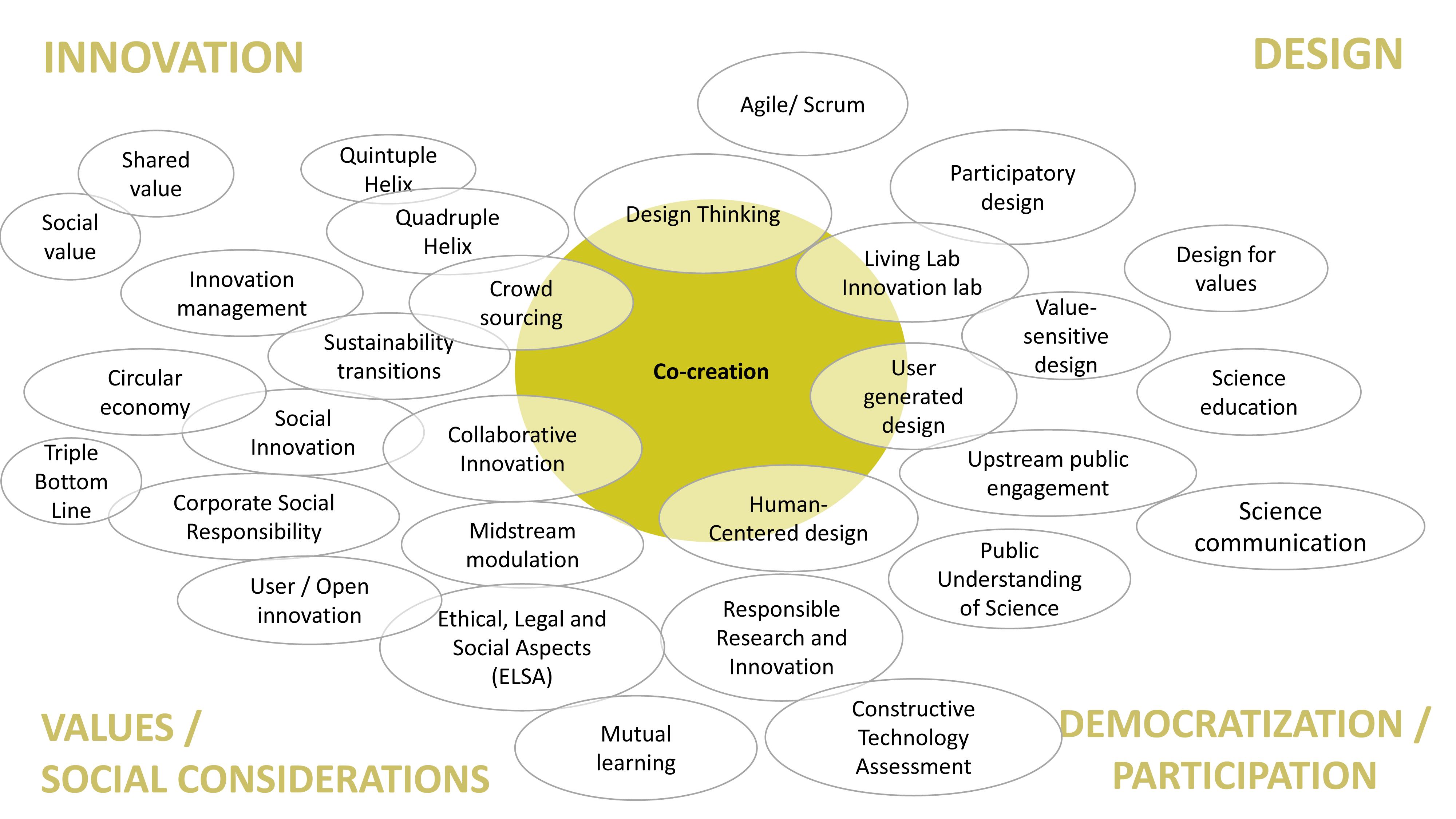 Co Creation Concept Map Gonano